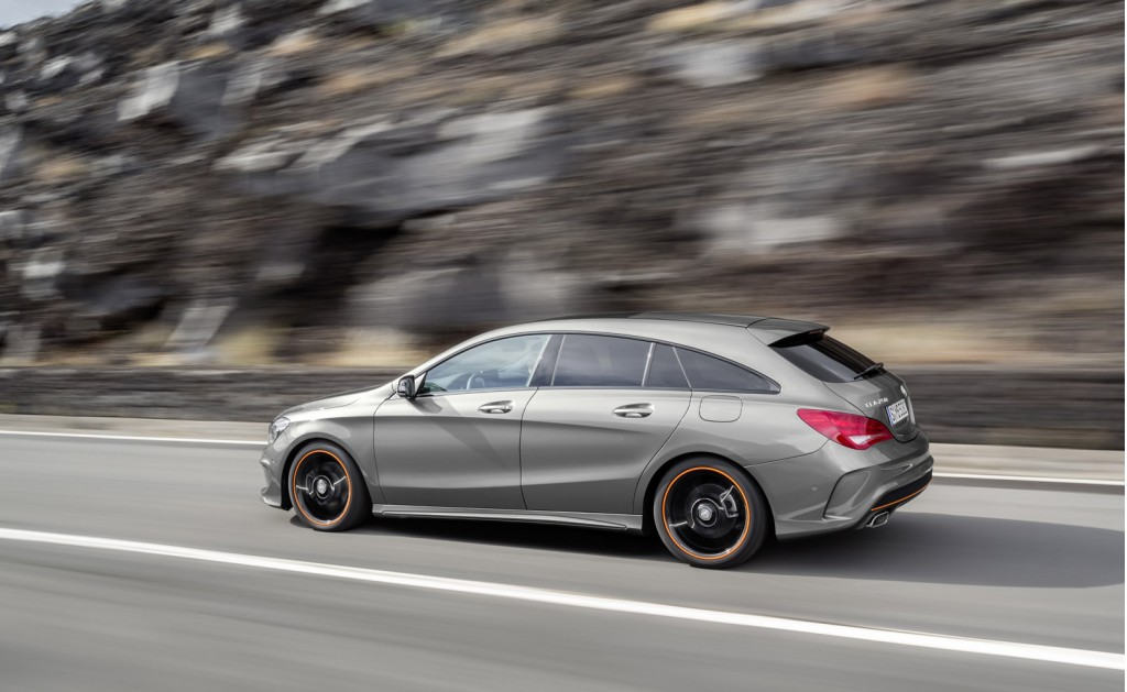 mercedes benz reveals cla and cla45 amg shooting brake. Black Bedroom Furniture Sets. Home Design Ideas