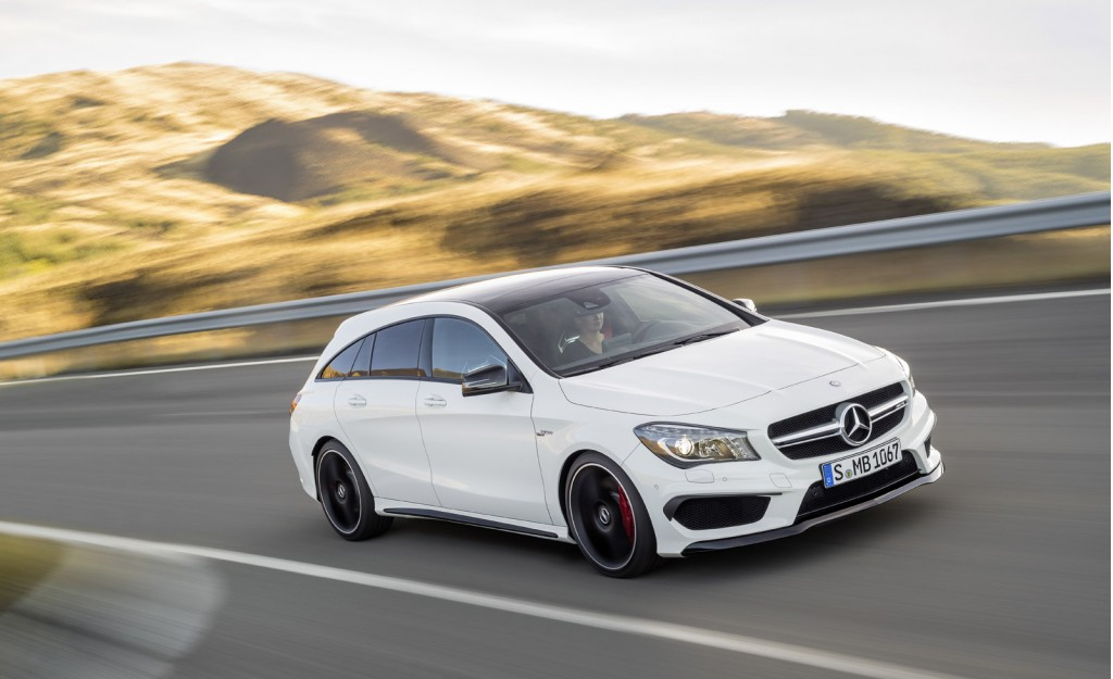 Mercedes benz reveals cla and cla45 amg shooting brake for 2015 mercedes benz cla class cla 45 amg