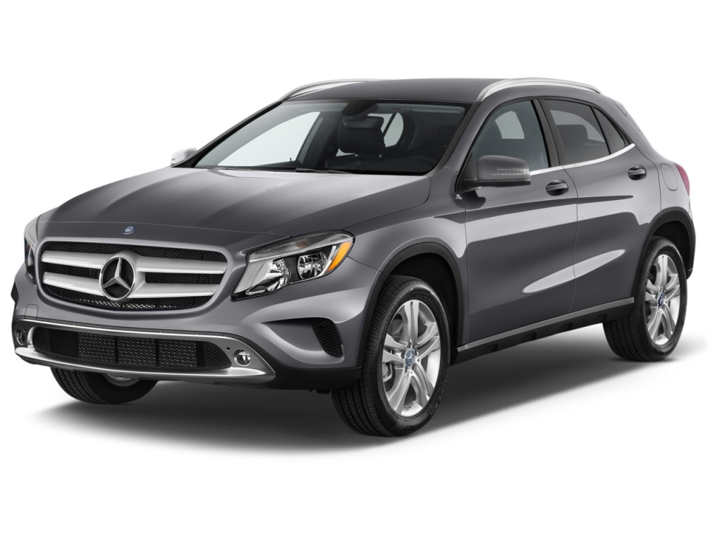 2015 mercedes benz gla class 4matic 4 door gla250 angular front exterior view. Black Bedroom Furniture Sets. Home Design Ideas