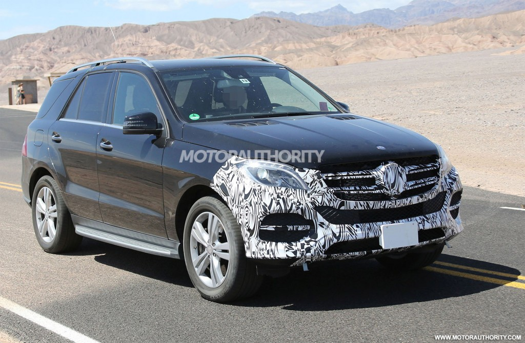2016 mercedes benz m class gle spy shots for Mercedes benz m class