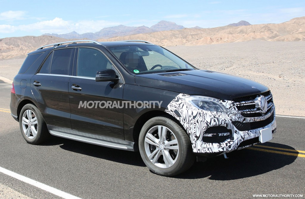 2016 mercedes benz gle to debut at 2015 new york auto show for 2015 mercedes benz m class