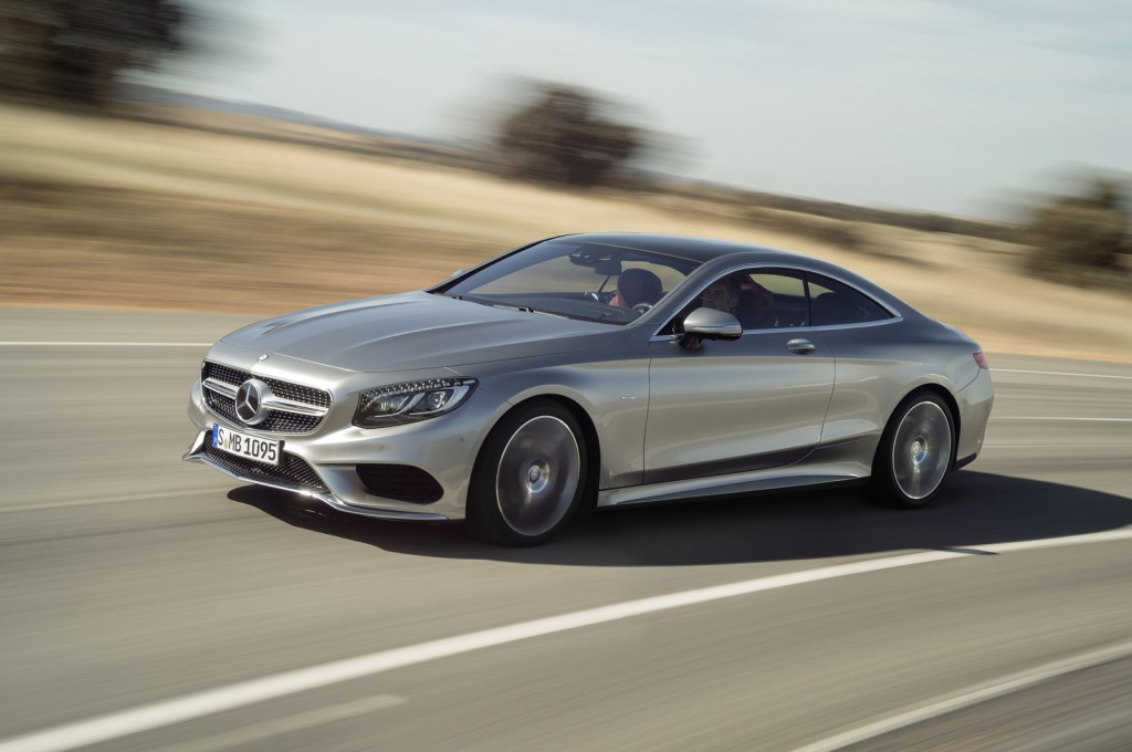 2015 Mercedes-Benz S-Class Coupe: 2014 Geneva Motor Show Live Photos
