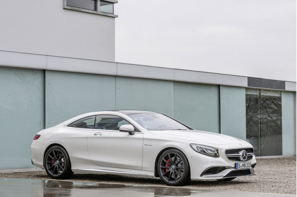 2015 mercedes benz s63 amg coupe 2014 new york auto show for New mercedes benz s class 2015