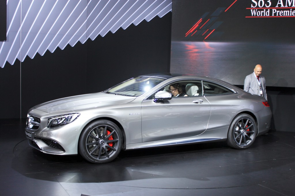 2015 mercedes benz s63 amg coupe 2014 new york auto show. Black Bedroom Furniture Sets. Home Design Ideas