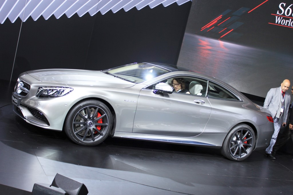 2015 mercedes benz s63 amg coupe 2014 new york auto show for 2014 mercedes benz s65 amg coupe