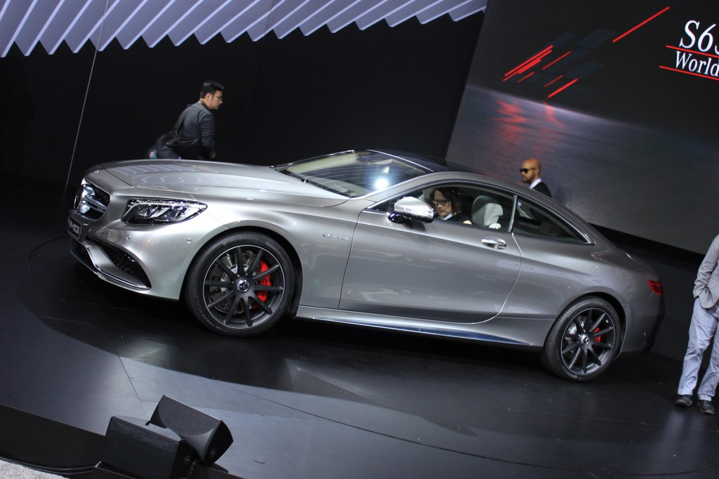 2015 mercedes benz s63 amg coupe 2014 new york auto show - Mercedes car show ...