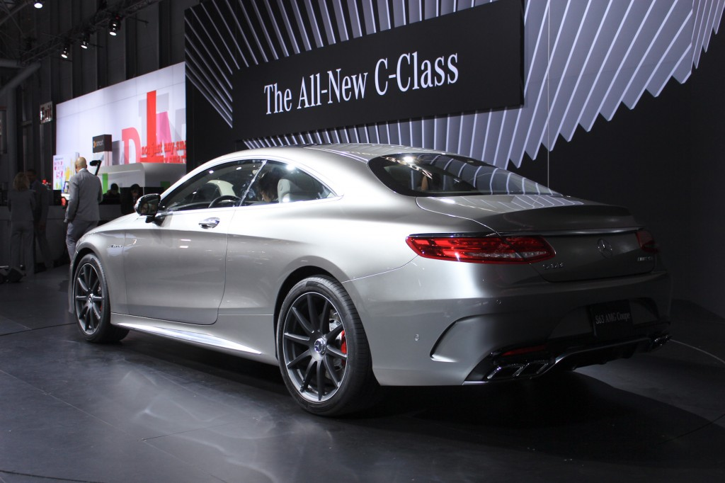 2015 mercedes benz s63 amg coupe 2014 new york auto show for Mercedes benz nyc