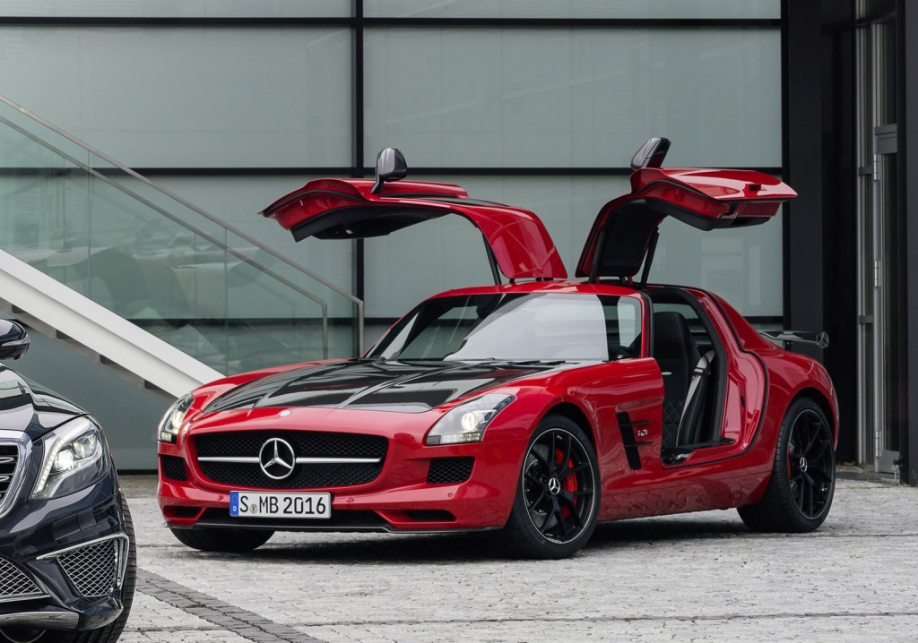 2015 mercedes benz sls amg gt final edition makes debut. Black Bedroom Furniture Sets. Home Design Ideas