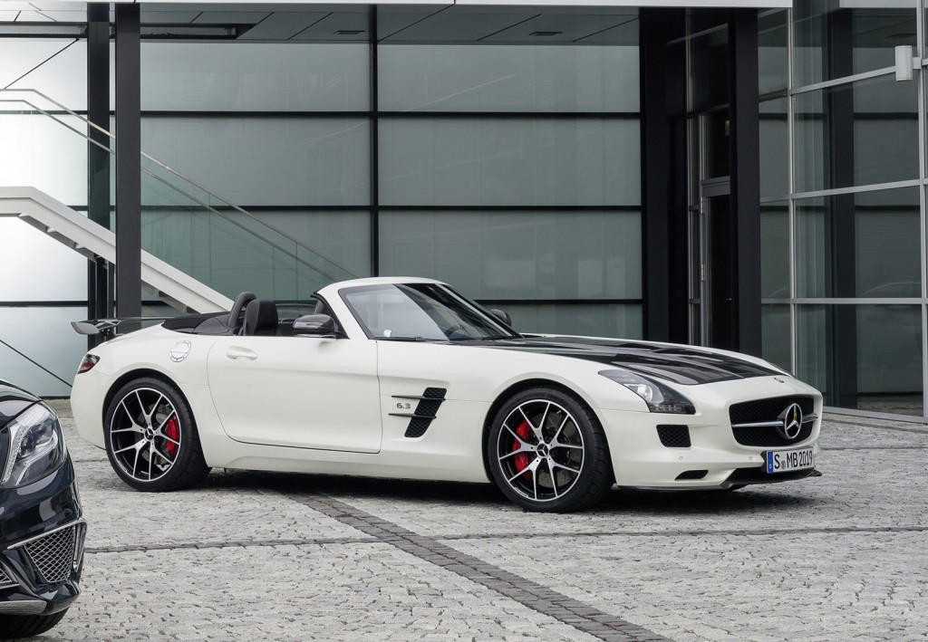2015 mercedes benz sls amg gt final edition makes debut for Mercedes benz van 2015