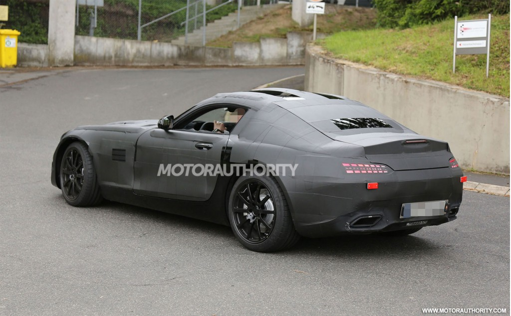 New mercedes benz sports car to be called the amg gt report for Sport mercedes benz new car