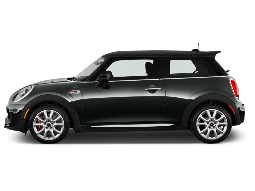 image 2015 mini cooper 2 door hb john cooper works side exterior view size 1024 x 768 type. Black Bedroom Furniture Sets. Home Design Ideas