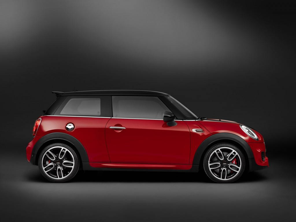2015 mini john cooper works revealed ahead of detroit auto show. Black Bedroom Furniture Sets. Home Design Ideas