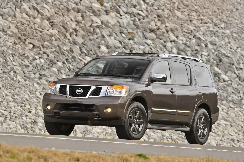 2015 nissan armada pictures photos gallery the car connection. Black Bedroom Furniture Sets. Home Design Ideas
