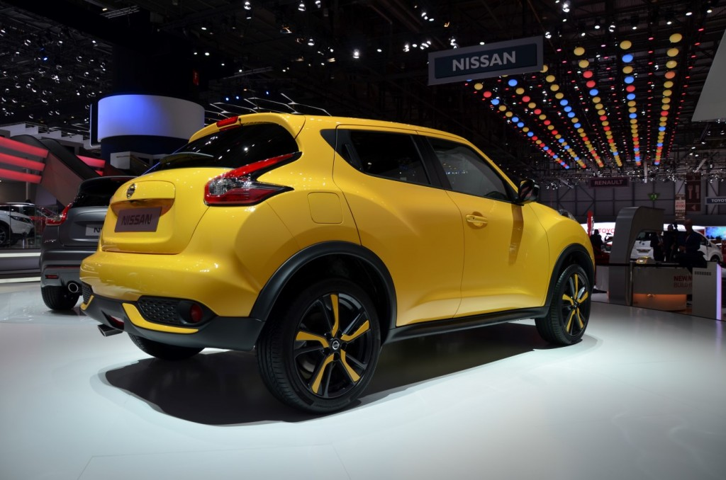 2015 nissan juke gains new styling engines in geneva video. Black Bedroom Furniture Sets. Home Design Ideas