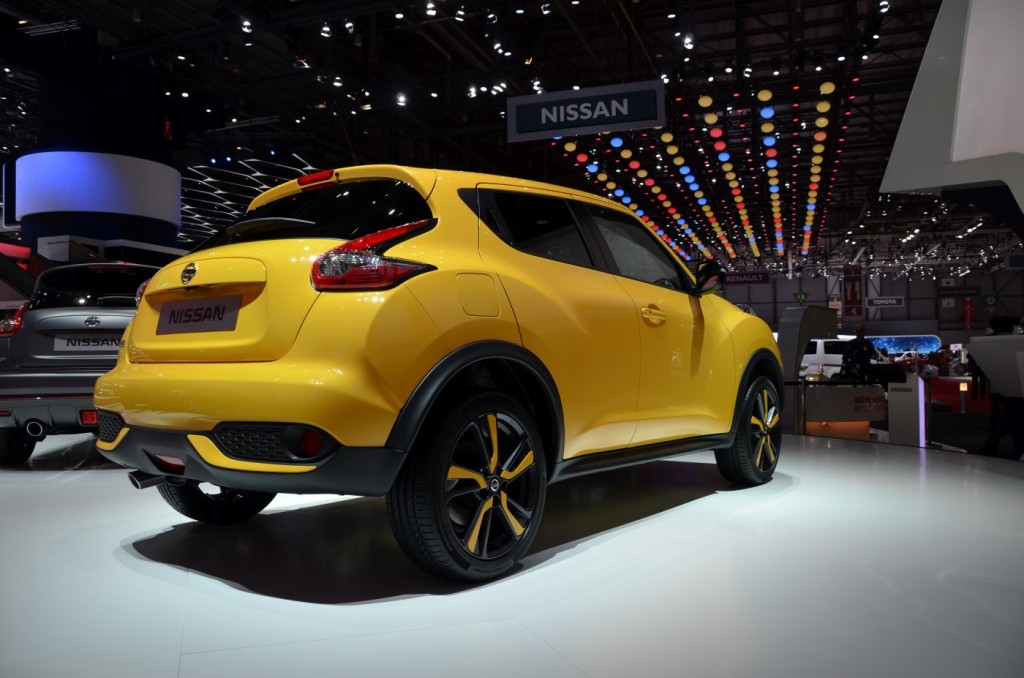 2015 nissan juke unveiled in geneva live photo gallery for What does a motor vehicle report show