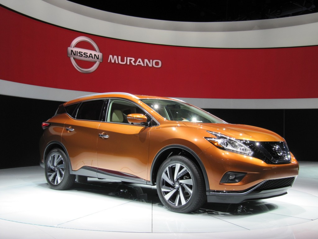 2015 Nissan Murano First Look Live Photos