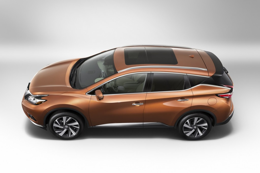 2015 nissan murano first look live photos. Black Bedroom Furniture Sets. Home Design Ideas