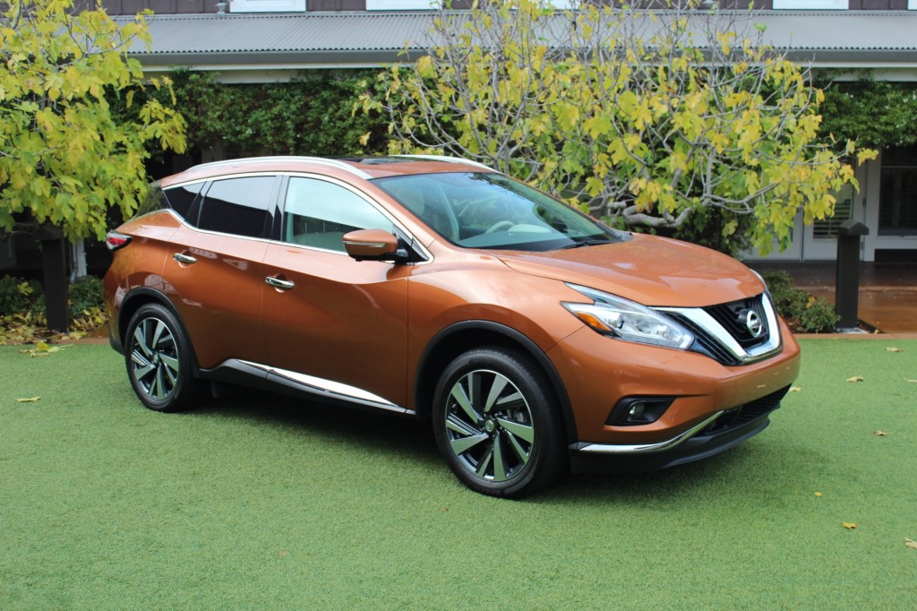 2015 nissan murano first drive. Black Bedroom Furniture Sets. Home Design Ideas
