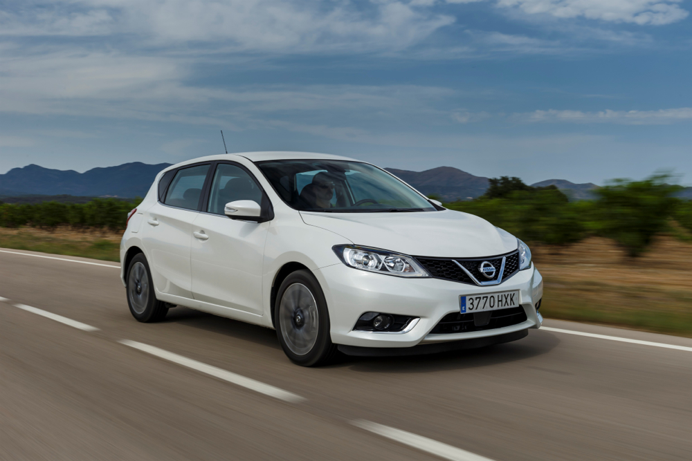 new nissan pulsar compact hatch rivals vw golf but no u s sales planned. Black Bedroom Furniture Sets. Home Design Ideas