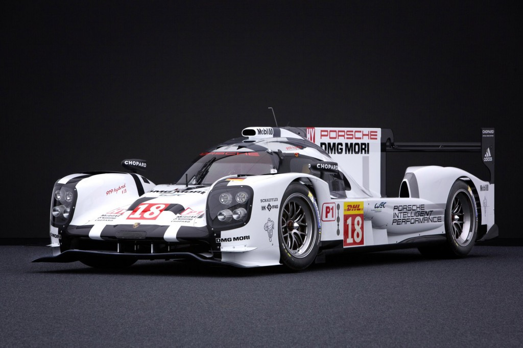 porsche ready for 2015 world endurance championship with new 919 hybrid video. Black Bedroom Furniture Sets. Home Design Ideas