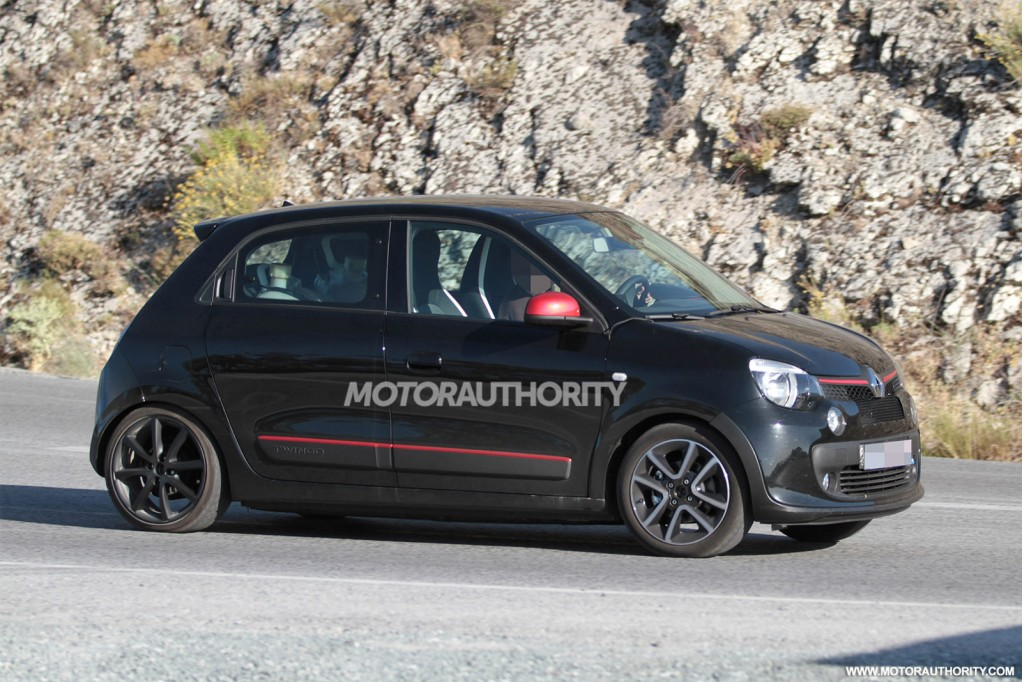 2015 renault twingo gt spy shots. Black Bedroom Furniture Sets. Home Design Ideas