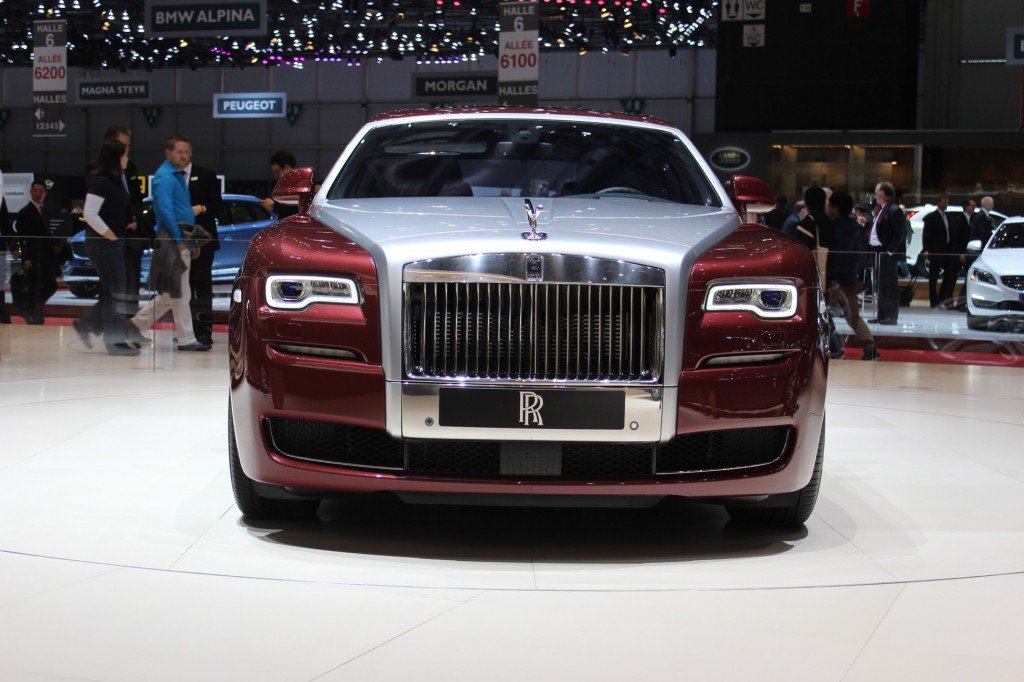 rolls royce ghost series ii unveiled in geneva live photos and video. Black Bedroom Furniture Sets. Home Design Ideas