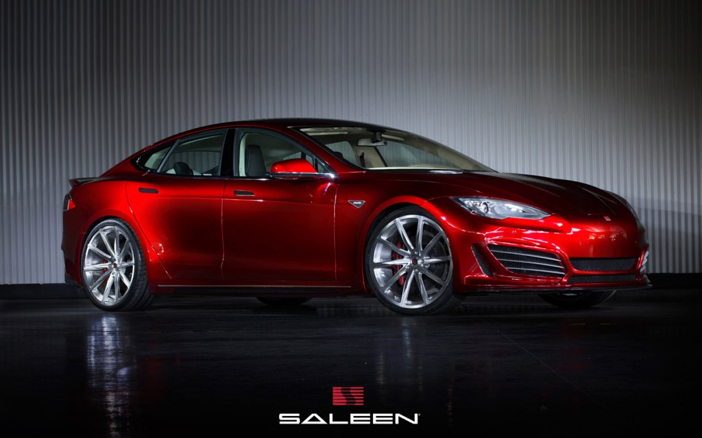 2015 saleen st based on the tesla model s