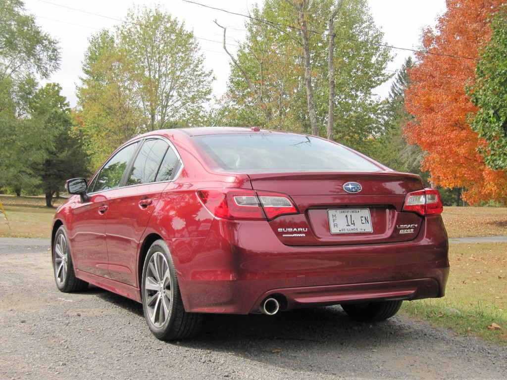 2015 subaru legacy gas mileage we test both and 3 6r. Black Bedroom Furniture Sets. Home Design Ideas