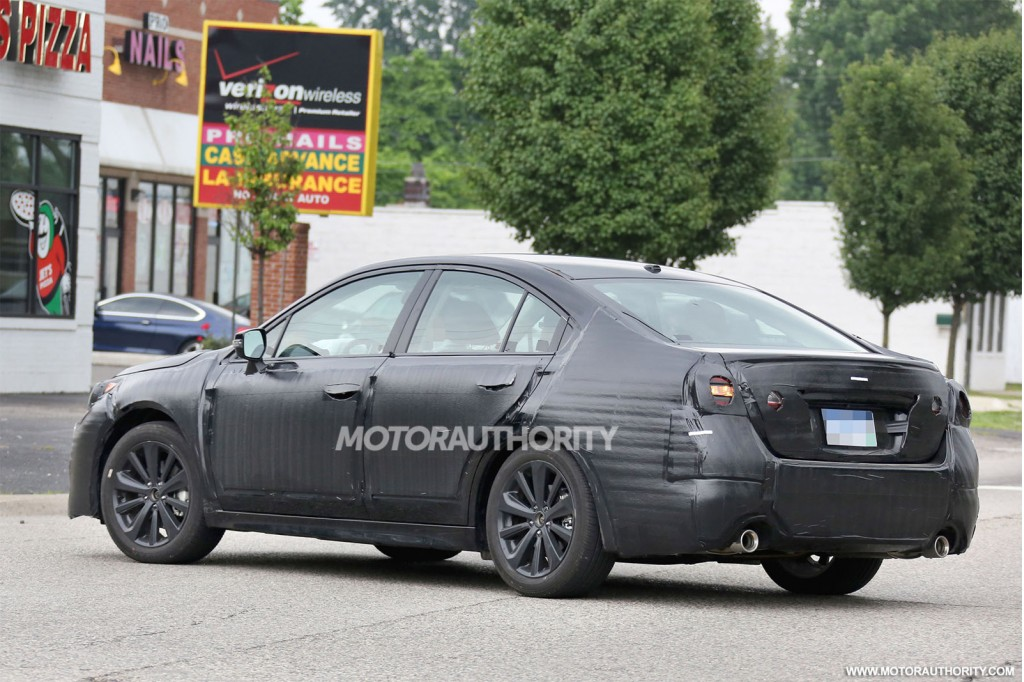 2015 Subaru Legacy Spy 2015 legacy news and rumors - subaru legacy