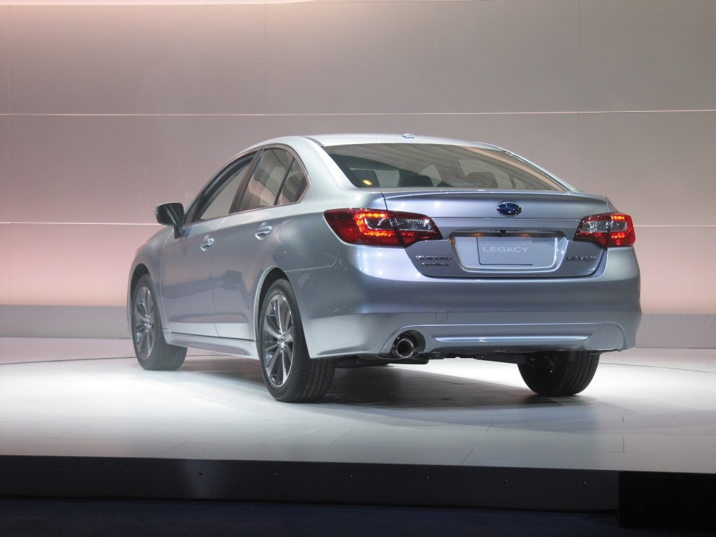 redesigned 2015 subaru legacy bows at chicago auto show html autos post. Black Bedroom Furniture Sets. Home Design Ideas