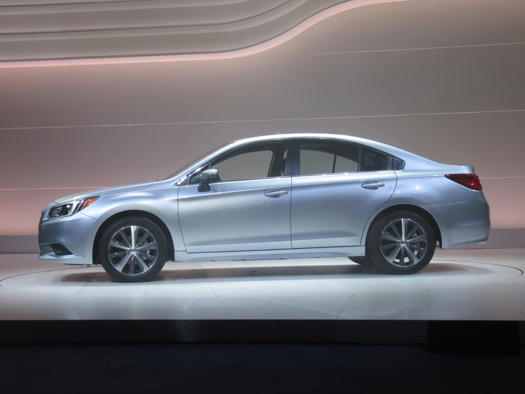 2015 Subaru Legacy Debuts At 2014 Chicago Auto Show: Live Photos