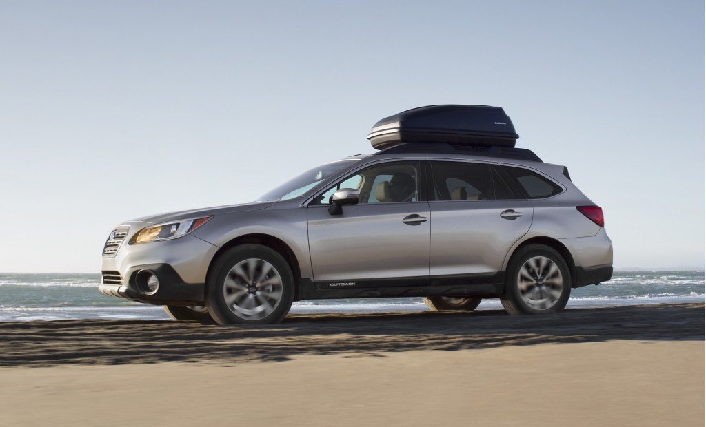 2015 Subaru Outback: 2014 New York Auto Show Live Photos