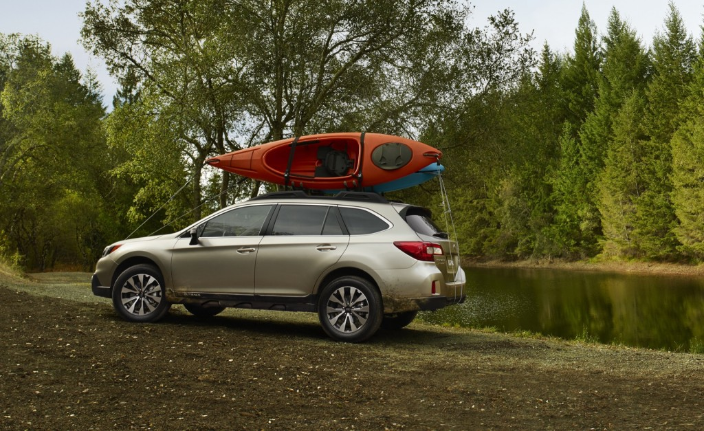 Image 2015 Subaru Outback Introduction At 2014 New York Auto Show
