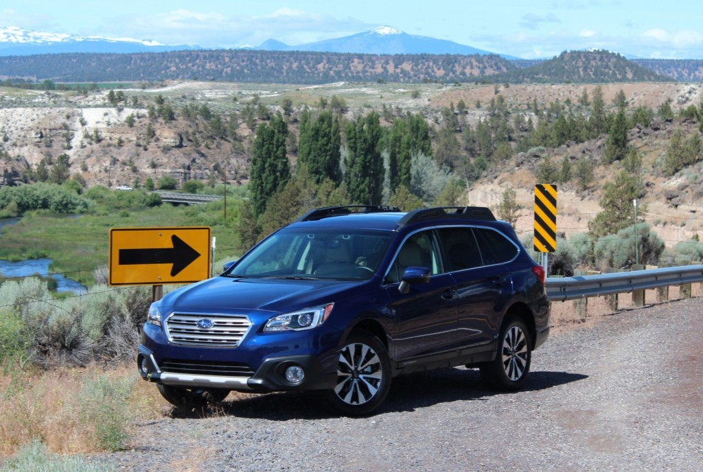 2015 Subaru Outback First Drive Photos