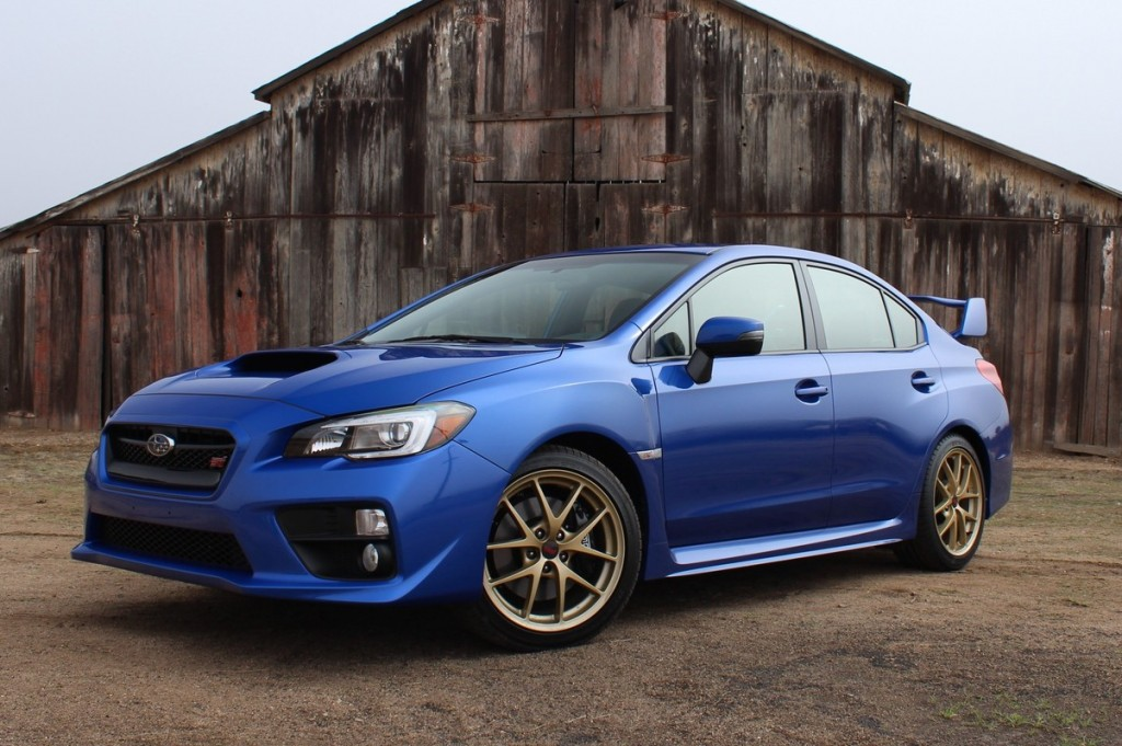 2015 subaru wrx sti first drive. Black Bedroom Furniture Sets. Home Design Ideas