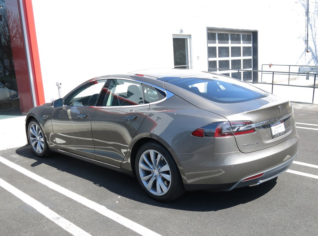 2015 Tesla Model S 70D: First Drive Of New Electric Car ...