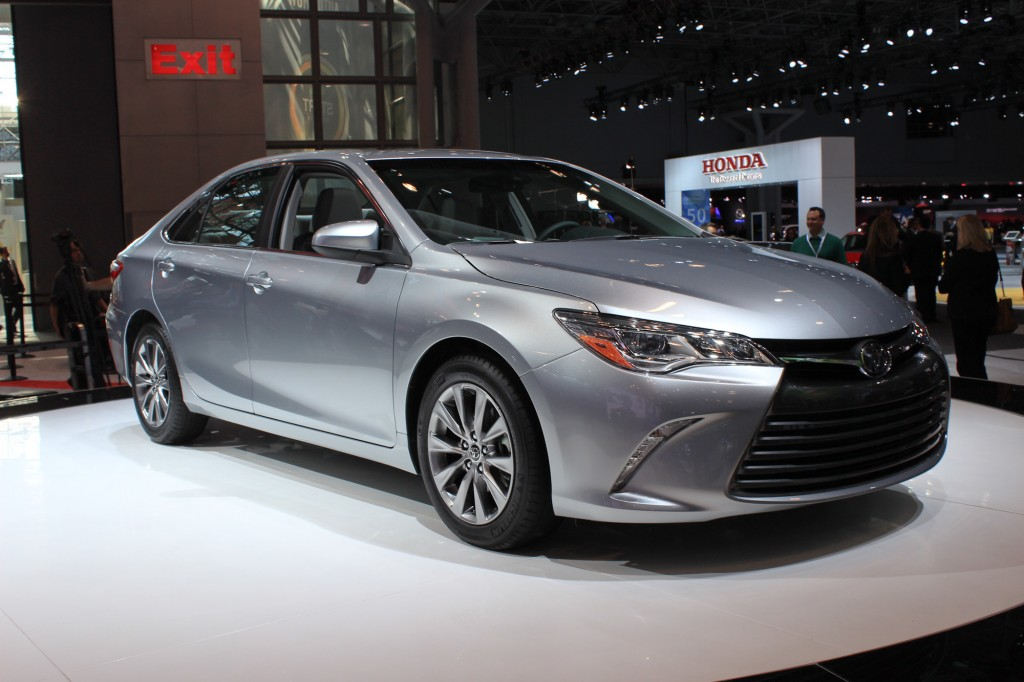 2015 Toyota Camry Video: New York Auto Show