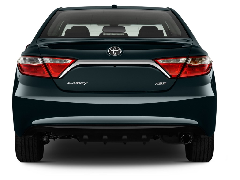 Rear Exterior View 2012 Toyota Camry 4 Door Sedan I4 Auto