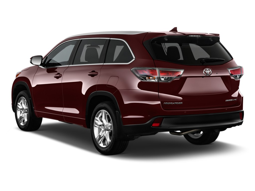 2015 toyota highlander fwd 4 door v6 limited platinum natl rear car interior design