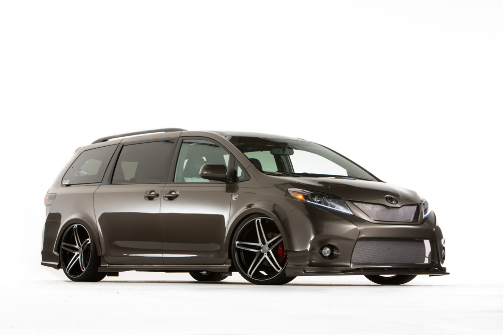 Toyota Reveals Sienna, Tundra, Yaris Performance Concepts For SEMA