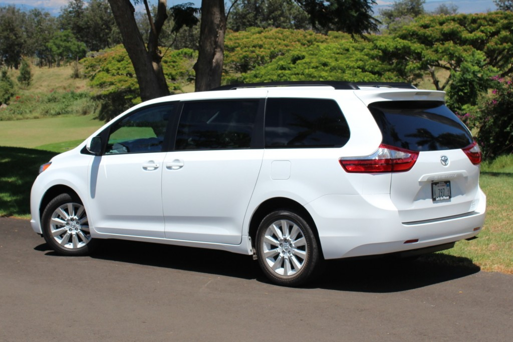 2015 Toyota Sienna Pictures Photos Gallery Motorauthority