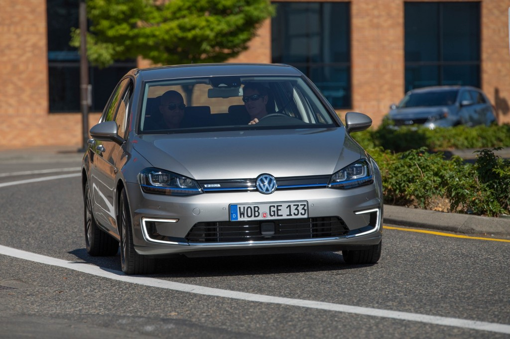 2015 Volkswagen E Golf Quick Preview Drive Of All