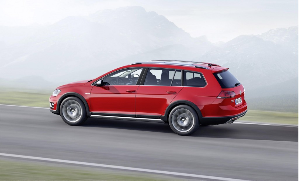 2015 volkswagen golf alltrack headed for paris auto show. Black Bedroom Furniture Sets. Home Design Ideas