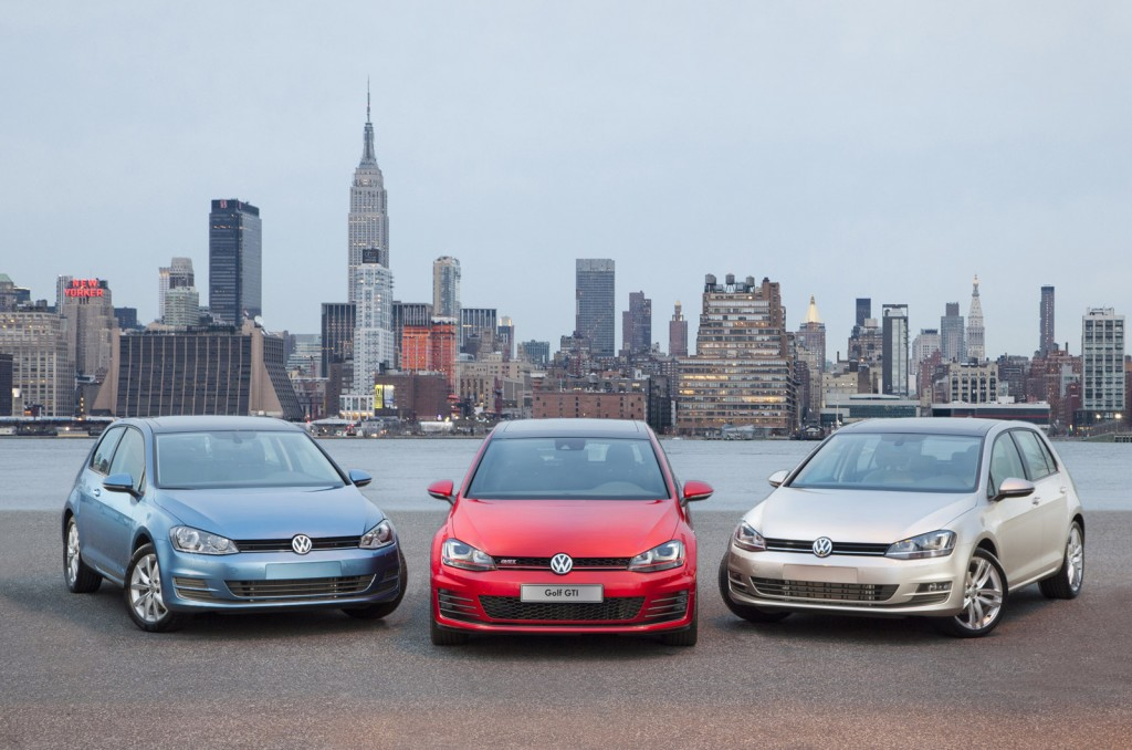 volkswagen debuts 2015 gti and golf in new york. Black Bedroom Furniture Sets. Home Design Ideas