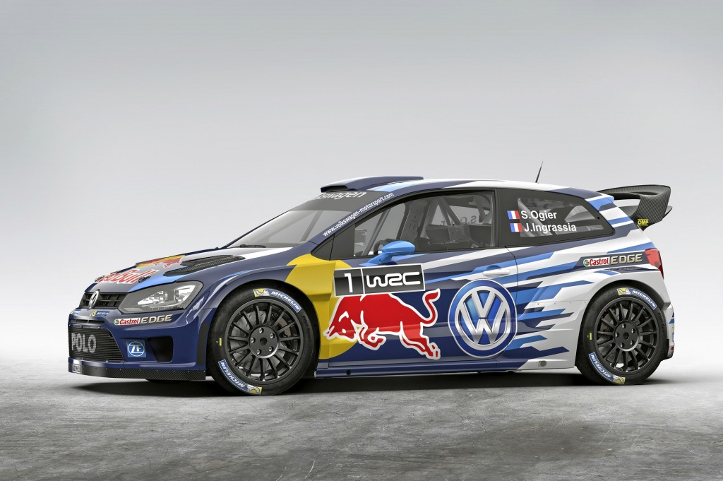new volkswagen polo r wrc revealed ahead of 2015 motorsport season. Black Bedroom Furniture Sets. Home Design Ideas
