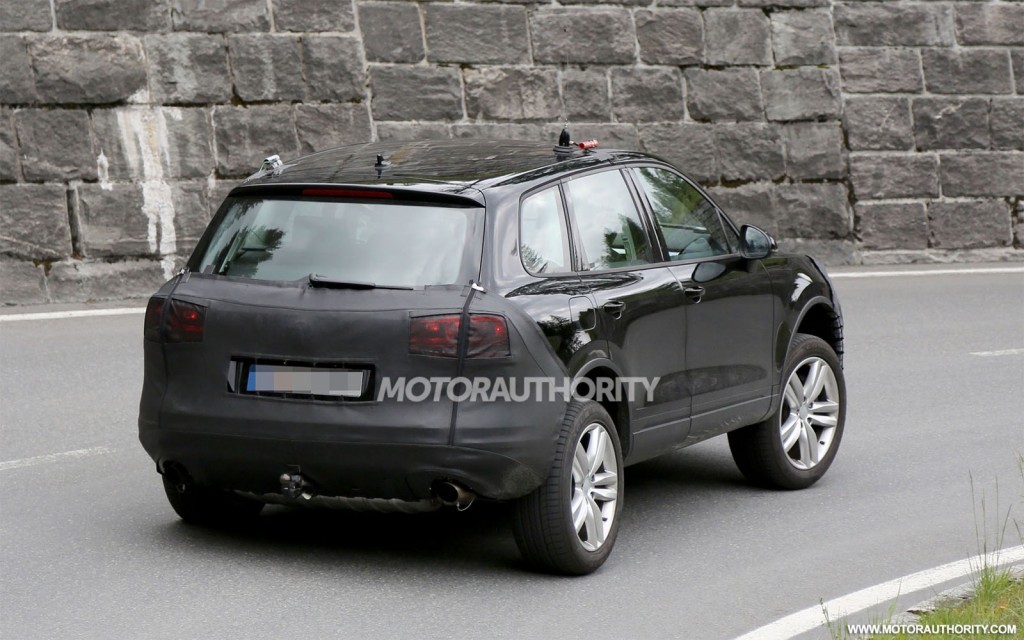 2015 Volkswagen Touareg Spy Shots Lowrider Car Pictures