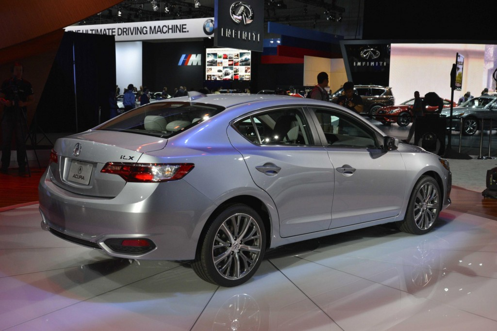 2016 acura ilx debuts at 2014 l a auto show. Black Bedroom Furniture Sets. Home Design Ideas
