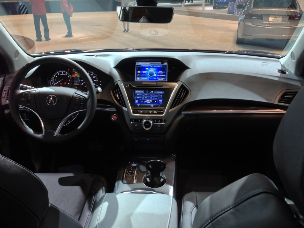 2016 acura mdx gets nine speed auto available electronic driver aids live photos. Black Bedroom Furniture Sets. Home Design Ideas
