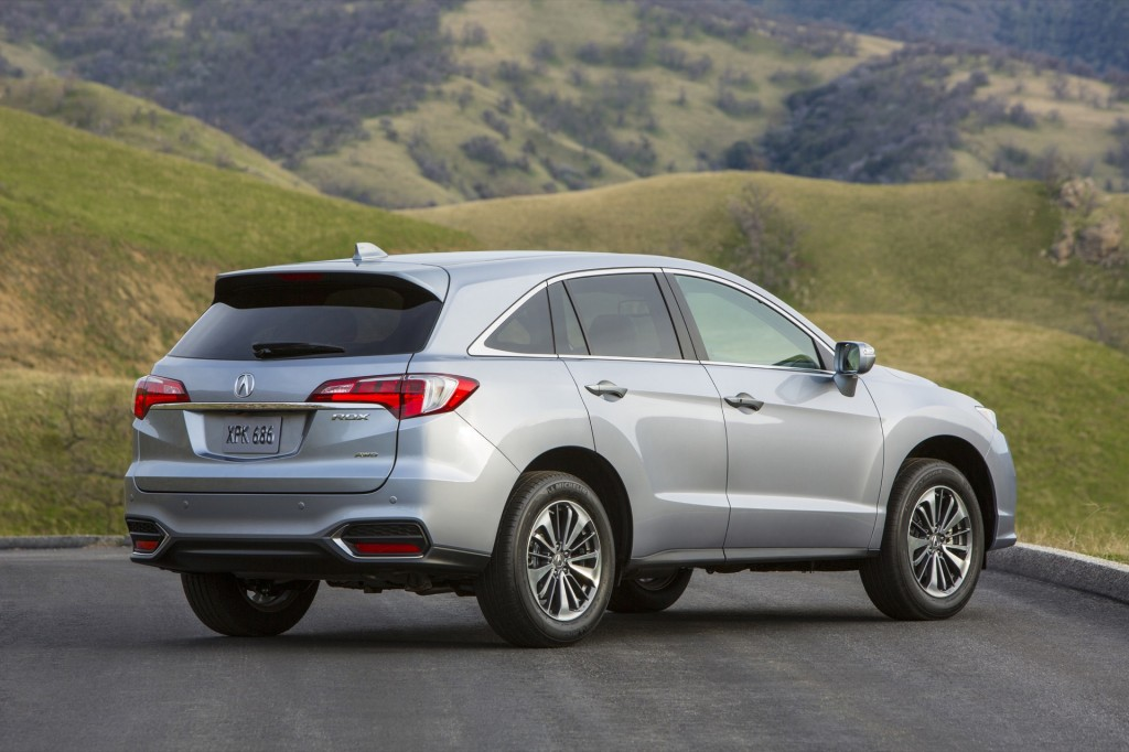 2016 acura rdx debuts at 2015 chicago auto show live photos. Black Bedroom Furniture Sets. Home Design Ideas
