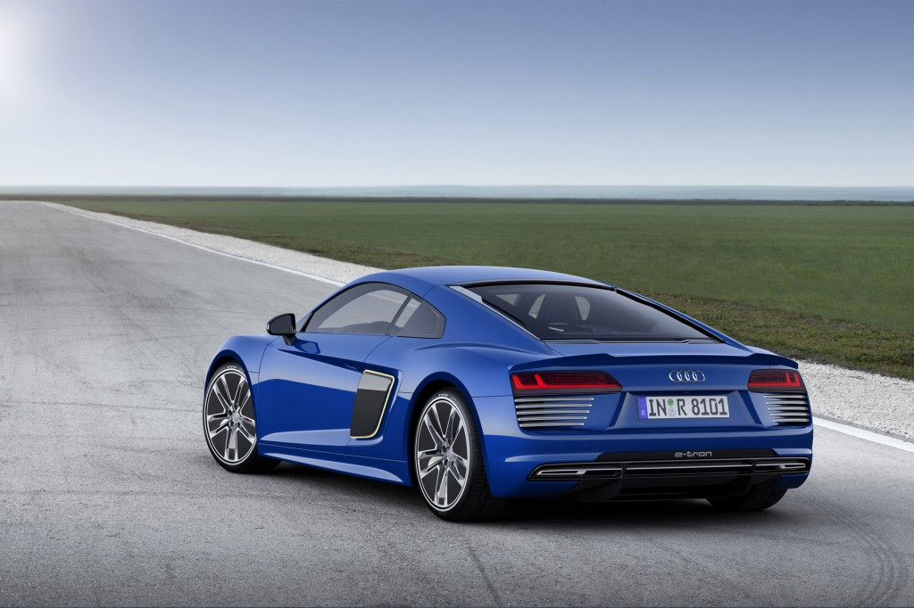 audi r8 e tron debuts at 2015 geneva motor show live photos. Black Bedroom Furniture Sets. Home Design Ideas